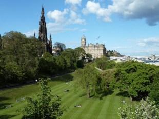 Princes Street gardens, Edinburgh Scotland