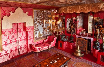 The Red Room (Salon Rouge), Hauteville House , Guernsey, Channel Islands - Image courtesy of VisitGuernsey.