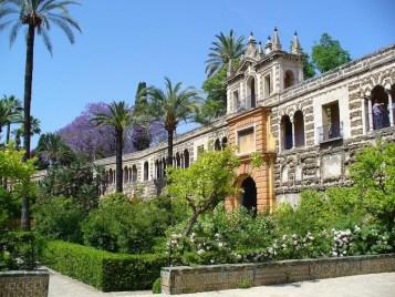 Andalusia Sevilla Palace garden