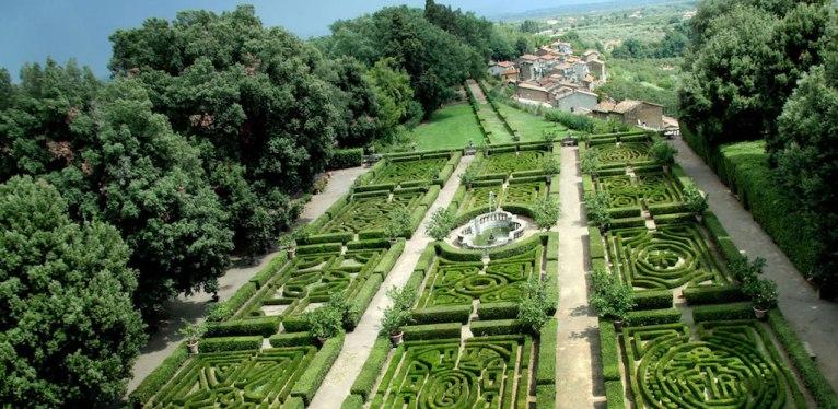 Castello Ruspoli garden, Italy