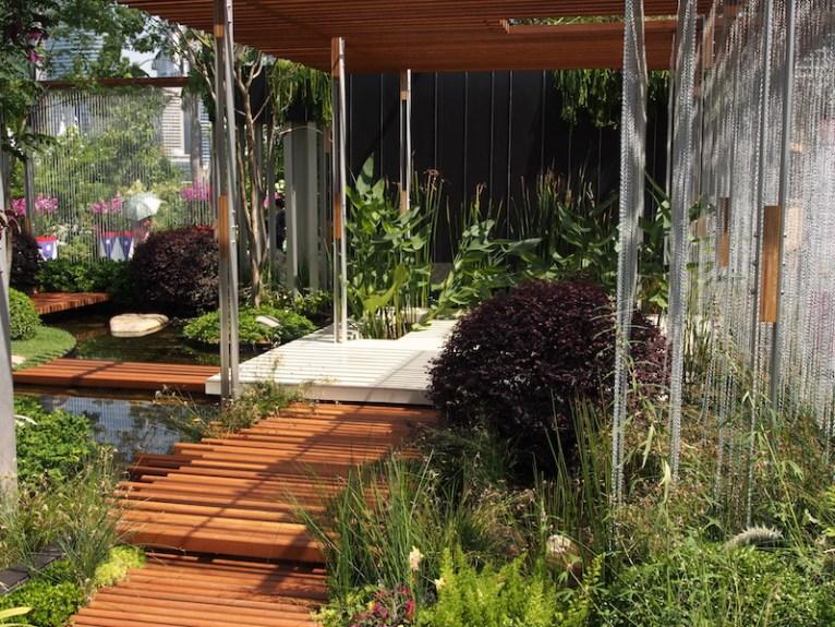 Singapore Garden Festival 2014. 'Vertical', Design Brendan Moar