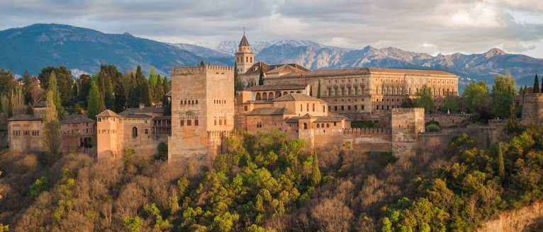 View of the Alhambra, Granada