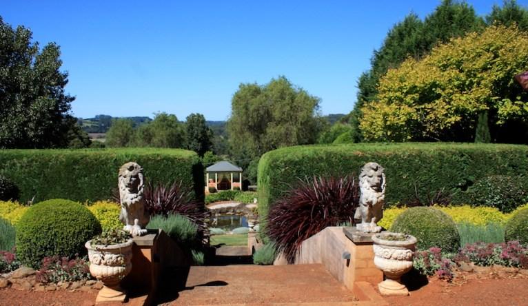 Memorial garden at Wildewood