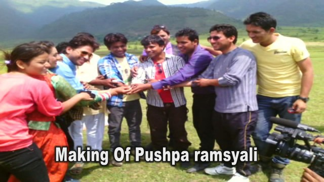 Exclusive Making of Pushpa Ramsyali | Prem Sing Gusain | Meena Rana | Govind Kandari
