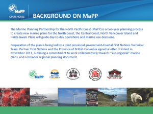Open House | MaPP's Background Board