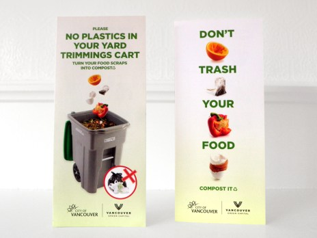 Pilot Brochures – Composting through the yard trimmings cart