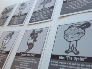 Baseball Cards – Character Bios