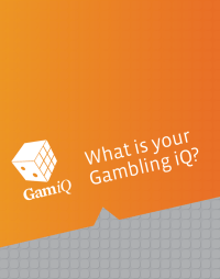What is your gambling iQ? | Prevention Display
