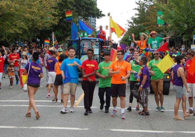 Van Proud T-Shirts and Pride Float