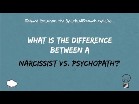 Narcissist vs. Psychopath. What is the difference?