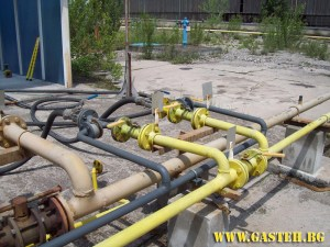 Gas installation BUTAN GAS