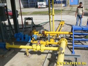 Газова инсталация Топливо АД гр. Бургас