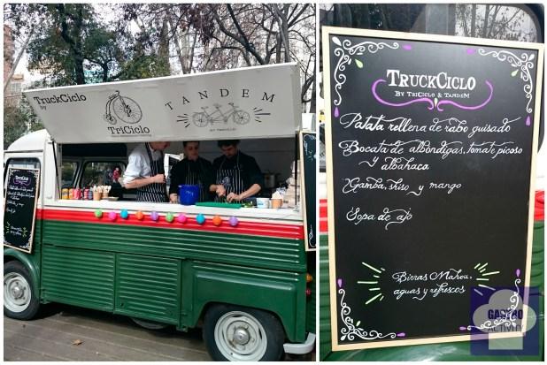 Truckciclo de Restaurante Triciclo y Restaurante Tandem