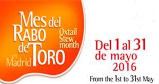 Jornadas gastronómicas del Mes del Rabo de Toro en Madrid 2016