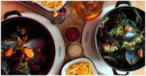 Restaurante Mejillon Moules frites Madrid