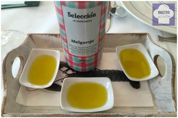 Aceite de Oliva Virgen Extra Seleccion de variedades Melgarejo Restaurante Gueyu Mar
