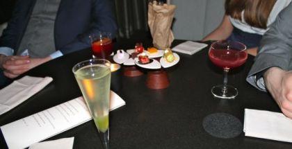 Første cocktailomgang satte en høj standard for resten af seancen.