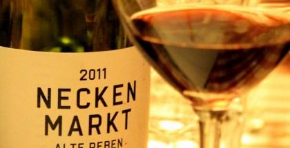 Necken Markt... Fin vin, men ikke imponerende...