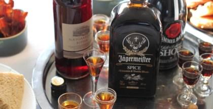 Jägermeister med kanel og vanilje...