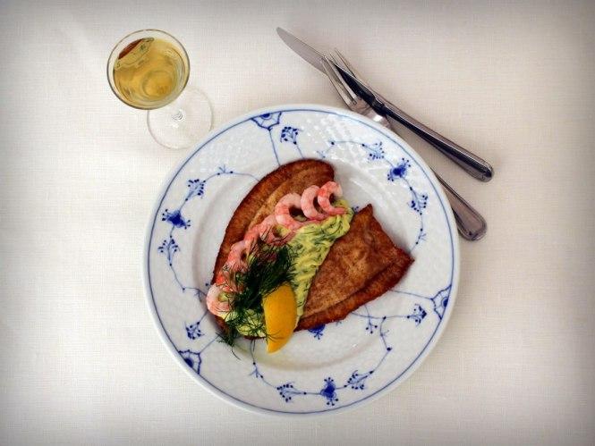 2015.Rødtungefilet med dildnaise_Restaurant Kronborg i København_02