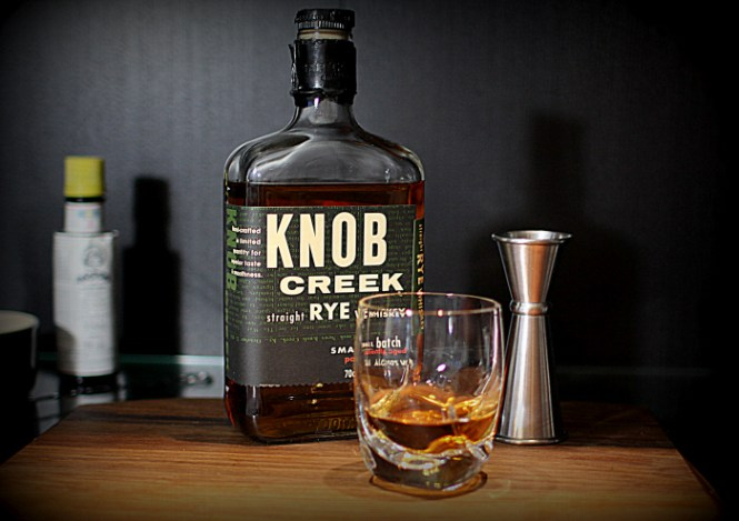Knob Creek Rye Straigh Up!