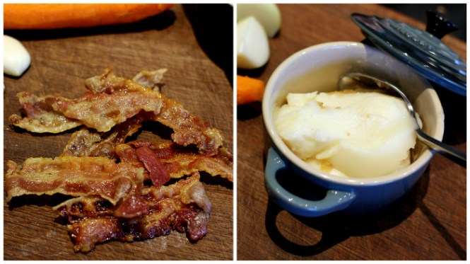 Bacon og andefedt - match made in heaven!