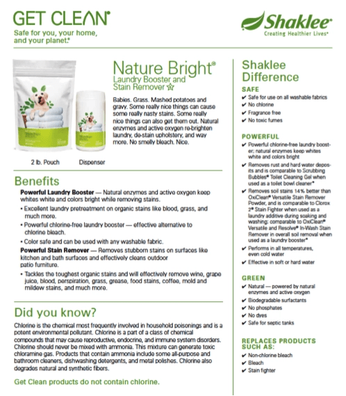 How To Use Nature Bright Shaklee