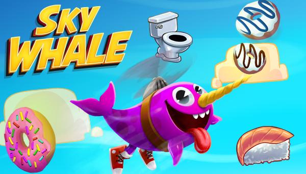 O Gato joga: Sky Whale