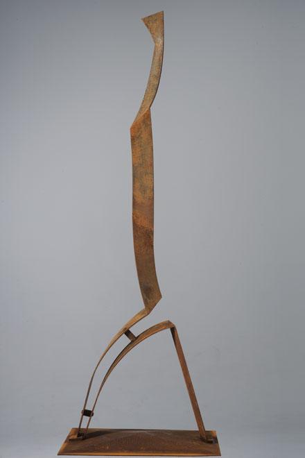Figure-humaine, acier corten