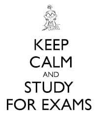 Study for Exams