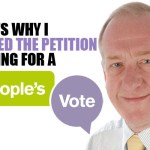Here's why I signed the petition calling for a People's Vote