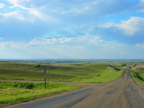Canadian Province Saskatchewan Skyline