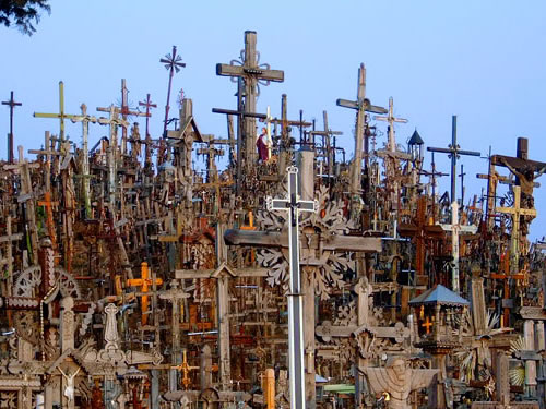Most Mysterious Places On Earth: The Hill of Crosses, Lithuania
