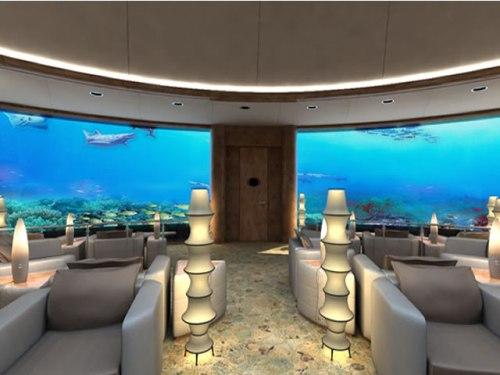 Best Underwater Experiences: Poseidon Underwater Lounge