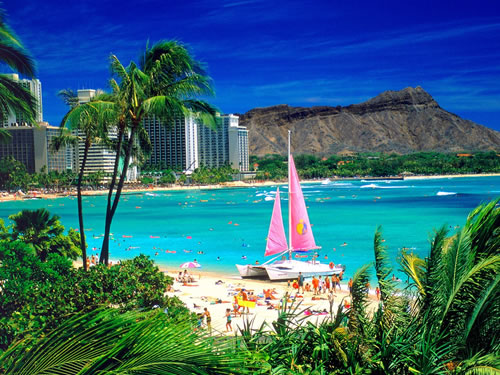 Family Spring Break Destinations: Oahu Hawaii Beach