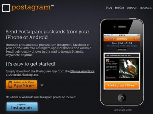 Postagram iPhone App