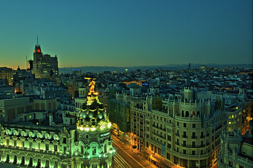 View from the roof of CBA building Madrid | (cc) Photo By Felipe Gabaldon