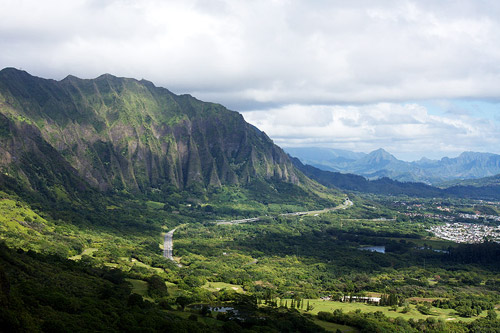 Koolau Cliffs Oahu, Hawaii