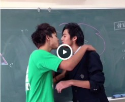 【Vine動画】周りから悲鳴が上がるほど激しいポッキーゲームからのキスがすごすぎるw
