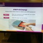 シンガポールのチャンギ国際空港でのフリーWIFIの使い方