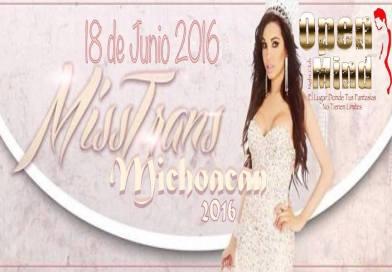 Miss Trans Michoacán 2016 – Morelia