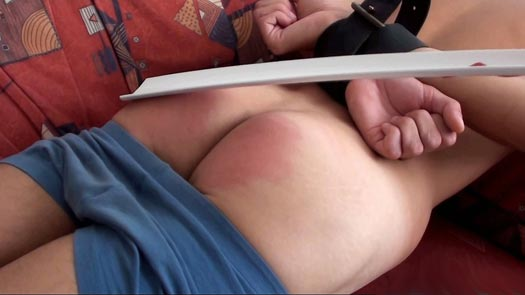 Sweet Twink Ton spanked and probed