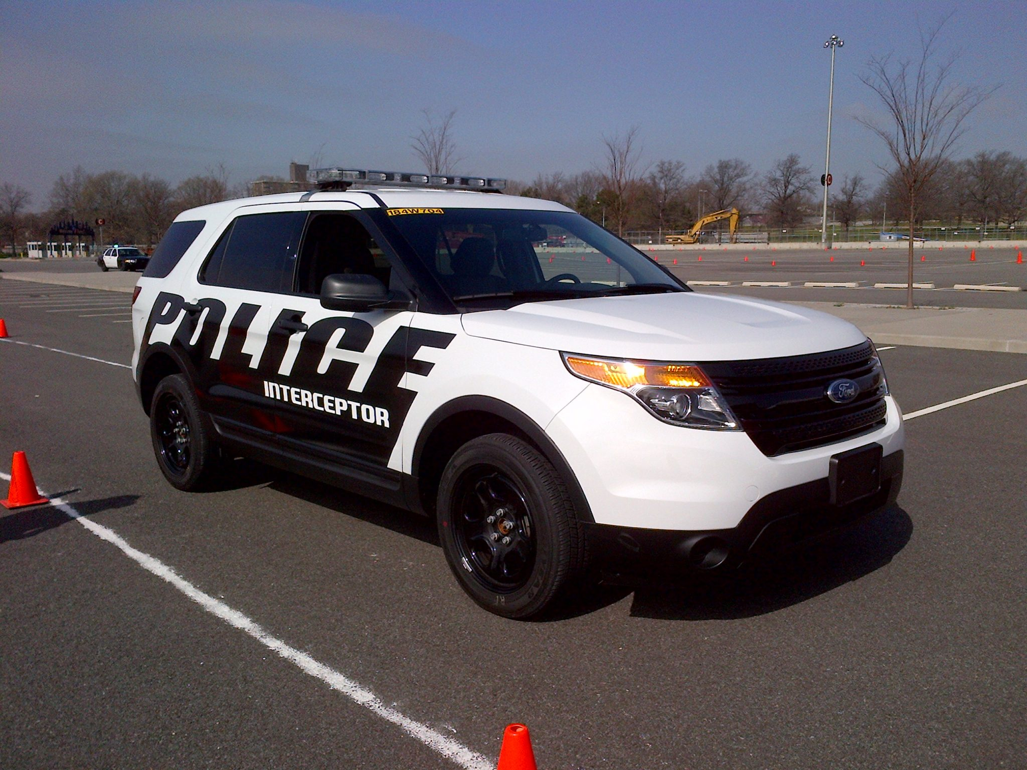 Ford's new Police Interceptor