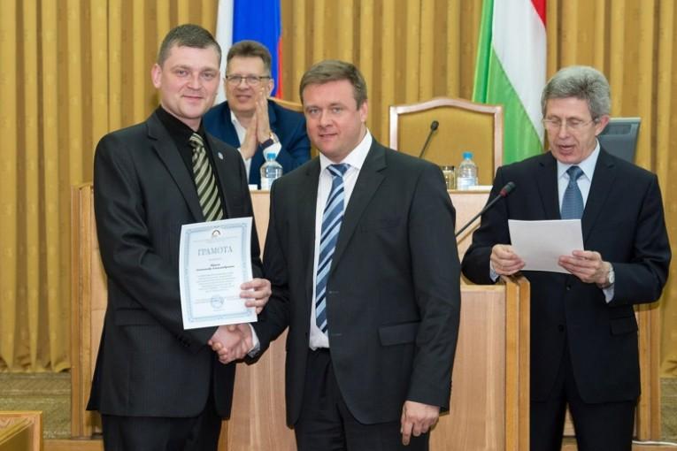 Николай Любимов вручил дипломы  выпускникам Президентской программы подготовки управленческих кадров