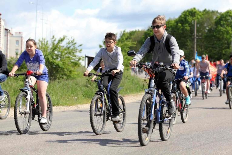 Ударили велопробегом по бездорожью