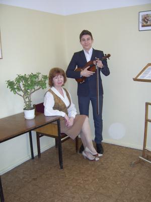 Дамир Дуров и Т,В.Солдатенкова