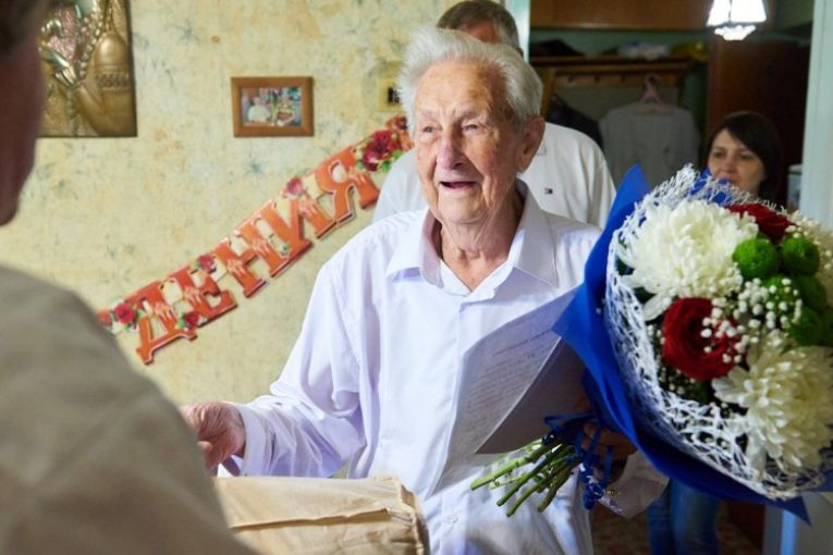 Президент и губернатор поздравили с юбилеем ветерана Великой Отечественной войны Бориса Астапова из Обнинска