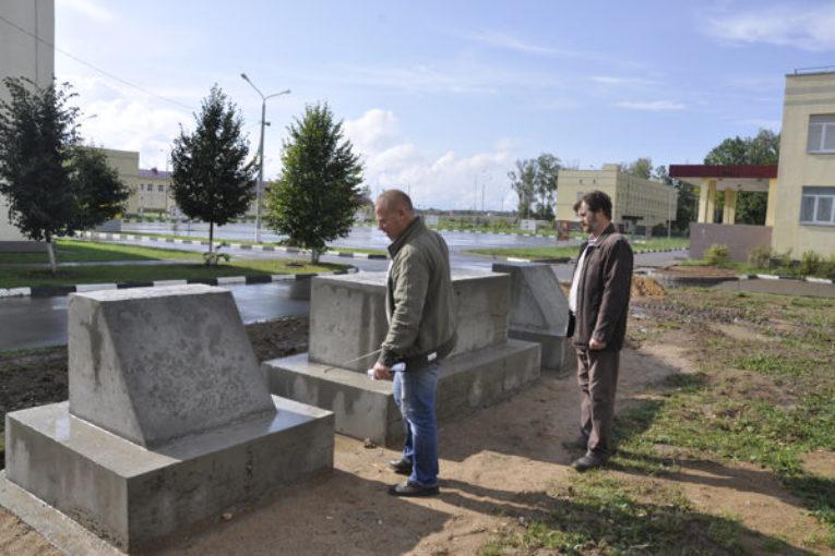 Монумент в память о военных летчиках