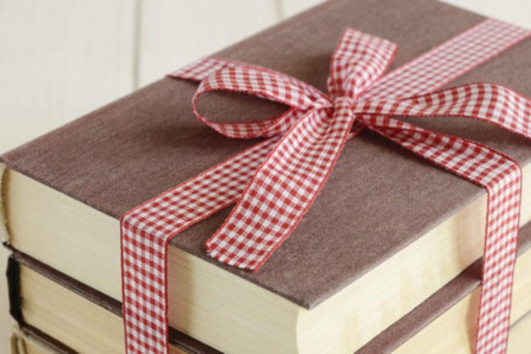 Спасибо за подаренные книги!