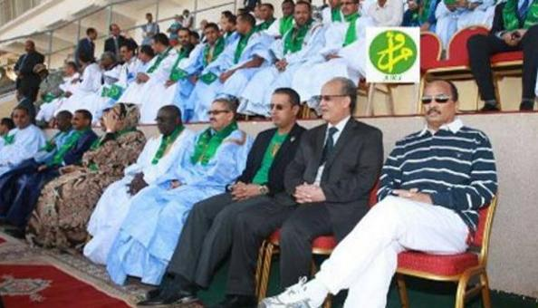 Mauritanias president got bored at the Super Cup. Ends match after 63 minutes by calling for penalties